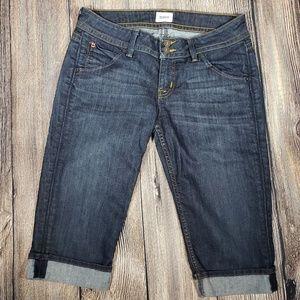 Hudson denim capris Jeans size 29